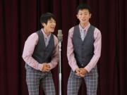 加古川の高校に通う漫才コンビ「アンドロイド」が全国コンテスト優勝 母校で凱旋ライブ