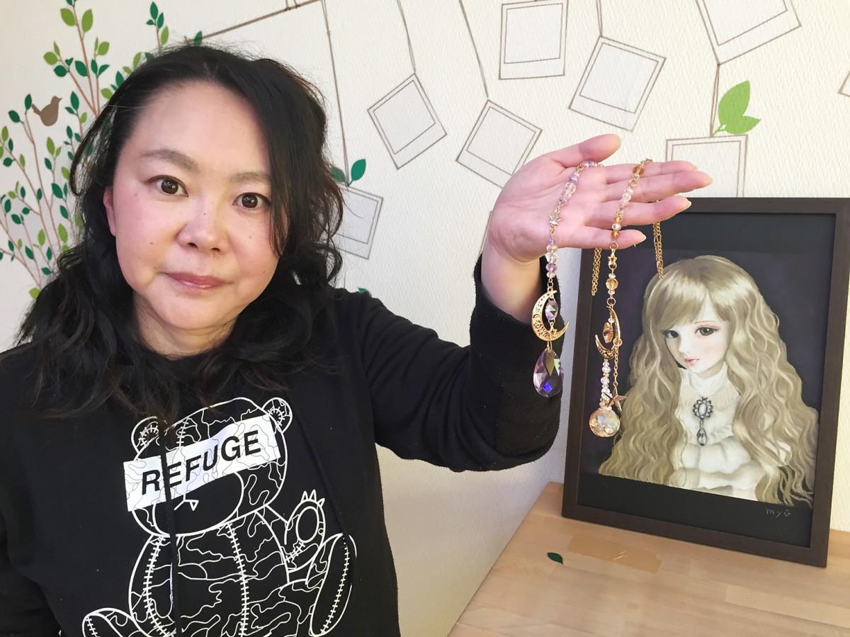 サンキャッチャー作家の萩原美幸さん