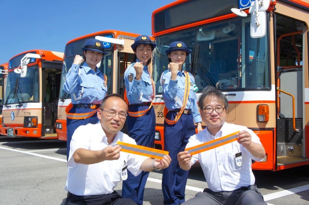 3警察署の女性警察官と神姫バス職員