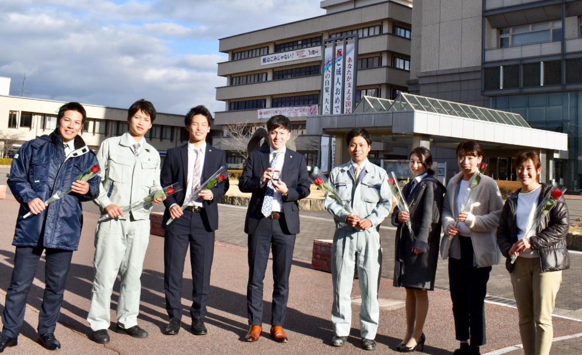 PR動画に出演した加古川市職員の皆さん