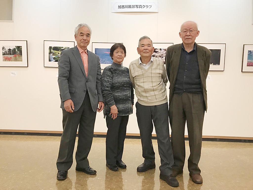 加古川風景写真クラブのメンバー