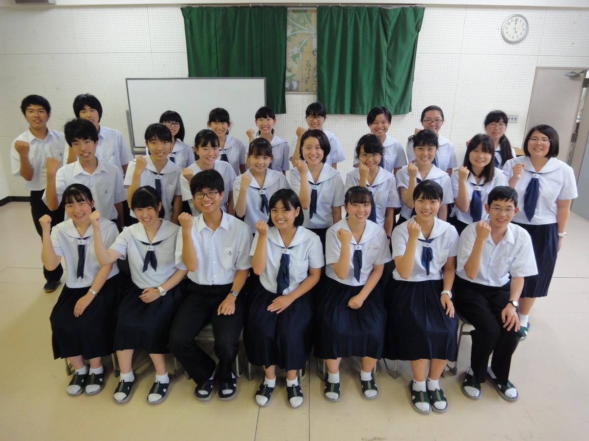 東播磨高校放送部の部員