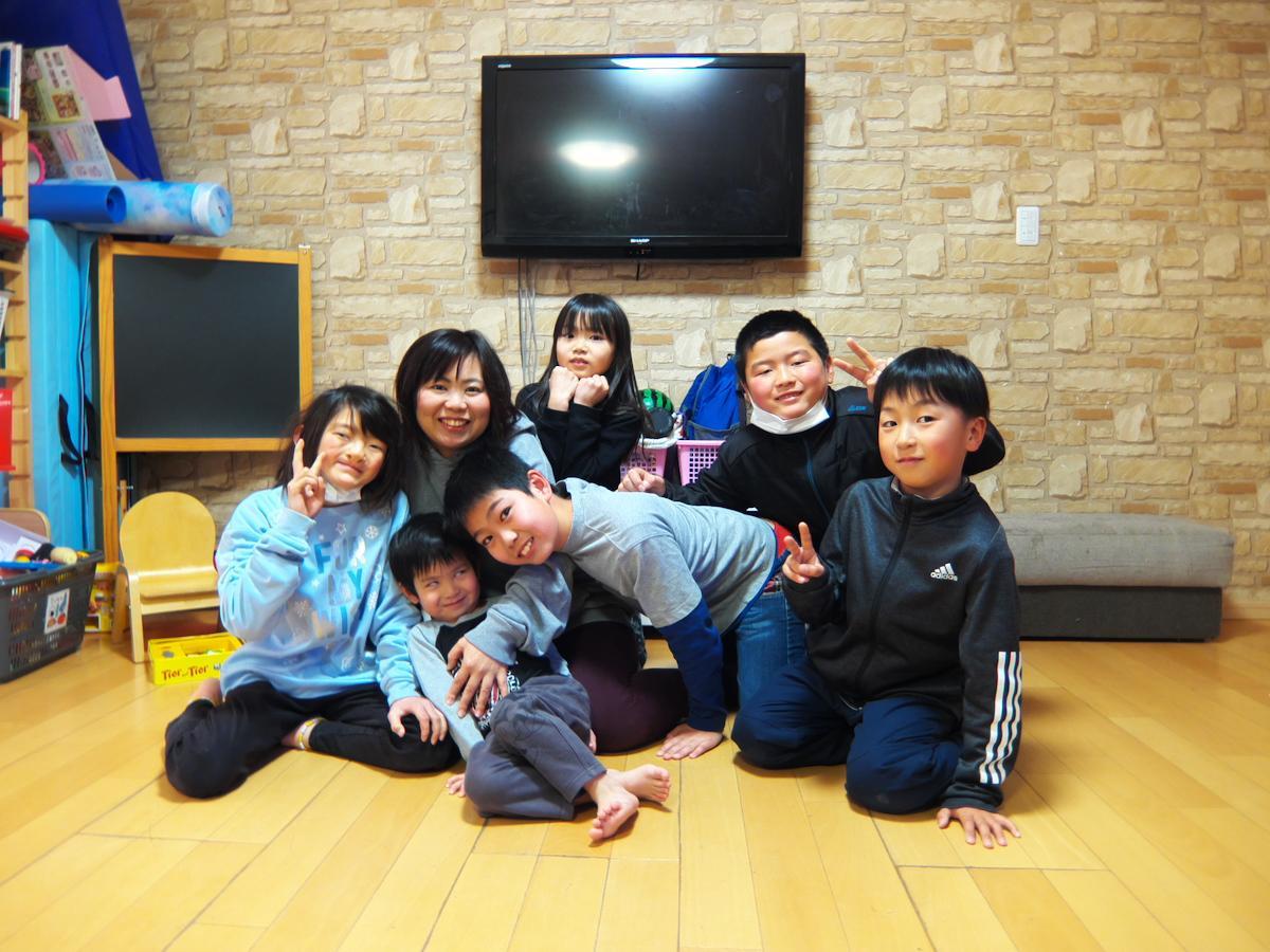 辰巳さんと子どもたち