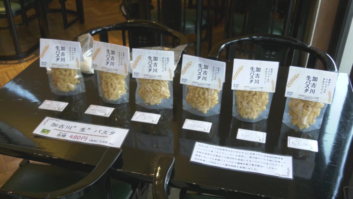 販売が開始した「加古川生パスタ」