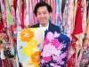 加古川の着物店で女子高校生へ浴衣プレゼント 着物に触れるきっかけに