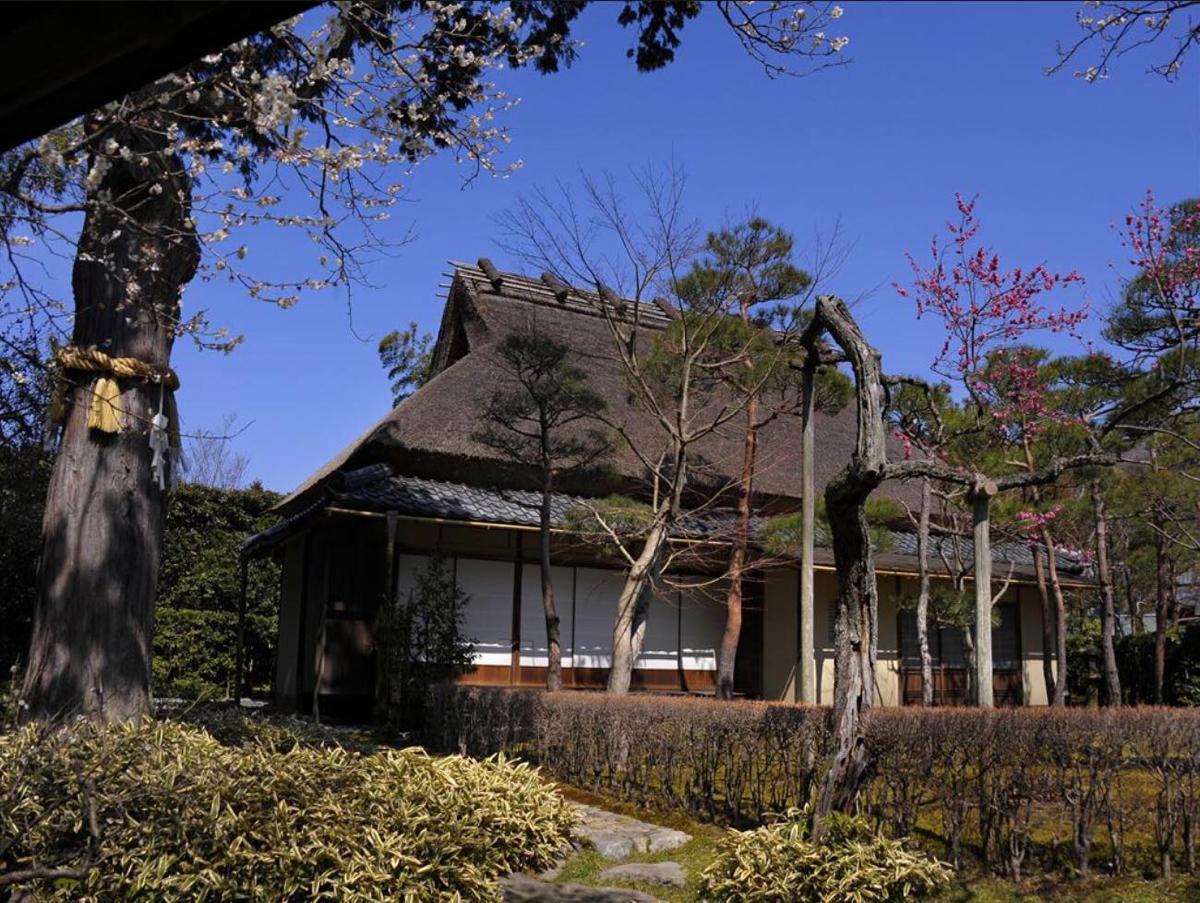 約370年前に一条恵観が京都に建てた茶屋を鎌倉に移築。1964(昭和39)年、国指定重要文化財に登録された