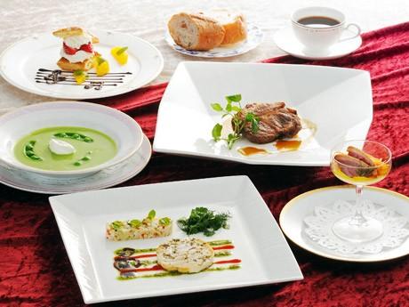 金沢都ホテルで提供されているディナーコース「ショパンの夕べ」