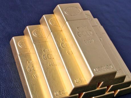 箔一が発売したUSBメモリー「GOLD INGOT USB MEMORY」