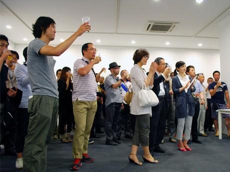 地元クリエーター130人が集まった「金沢ADC」発足記念パーティー