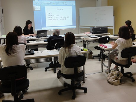 開講したITスキル基礎科の授業