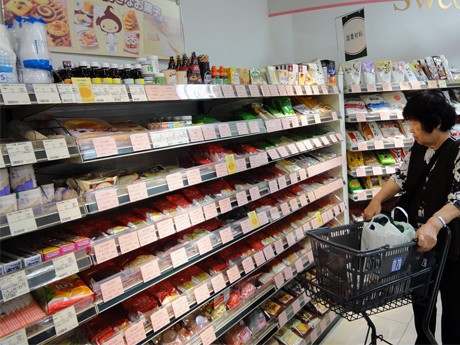 製菓用の材料を集めた新設の「ホーム・メード・スイーツ」コーナー