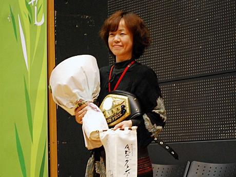 グランプリを受賞した横山真紀さん