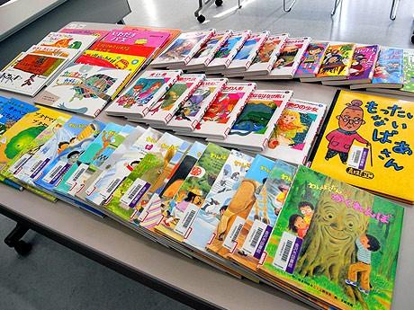 金沢海みらい図書館に寄贈された児童図書