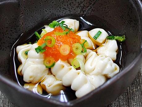 日本海藻食品研究所が技術開発に成功した「白子もどき」