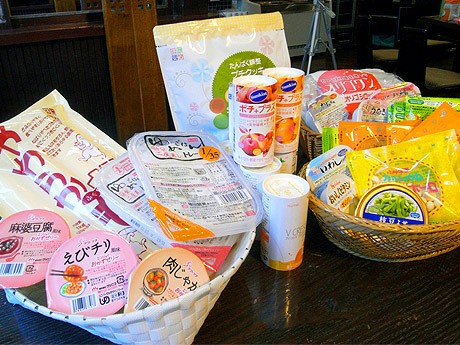 「TsuBameyA」で販売する介護・治療食用の食材