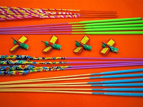花火のセレクトショップ「fireworks」の企画展で販売されている花火