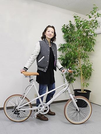 計量で小型の「金澤バイク」は、女性にオススメ