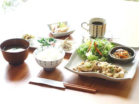 1日限定25食の「本日の定食」