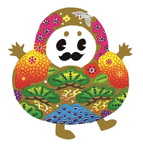 北陸新幹線金沢開業をPRする石川県のマスコットキャラクター