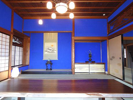 日本料理店として利用される「群青の間」