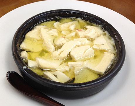 豆腐を用いて作ったピルピル
