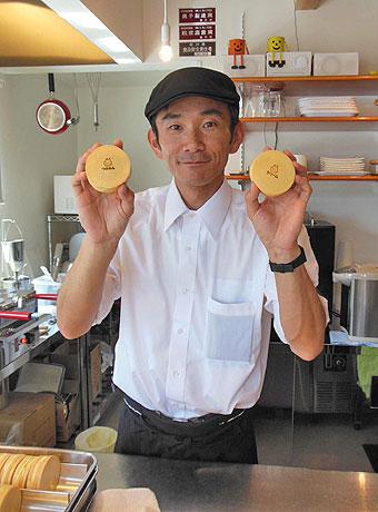 ネコ好きの店主、柚木健太郎さん