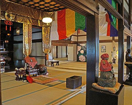 会場の一つとなっている廣誓寺