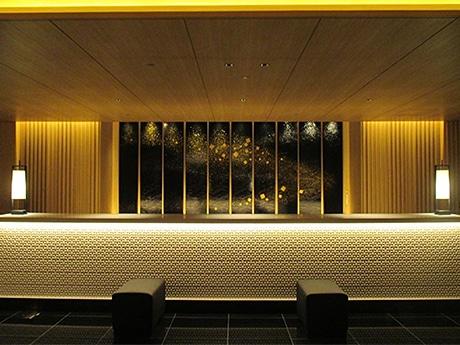 金沢東急ホテルのフロント