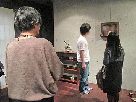 中村卓夫さんのアトリエを見学