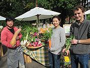 金沢で野菜・果物を対面販売する「アグリマルシェ」-カフェ・パン店も
