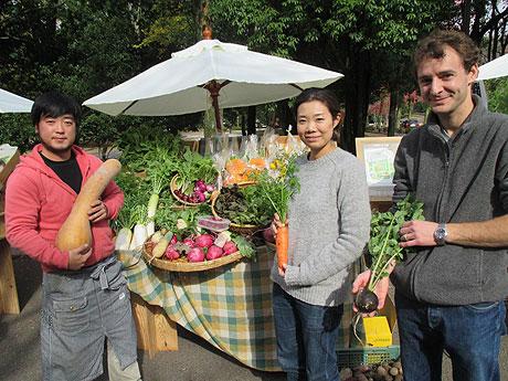 無農薬野菜を作る「あんがとう農園」