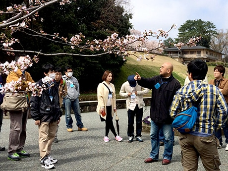 金沢城公園で行われたイングレスイベントの様子