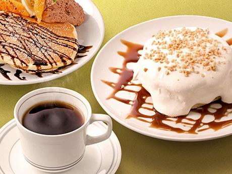 珈琲とリコッタパンケーキが売りの「高倉町珈琲」