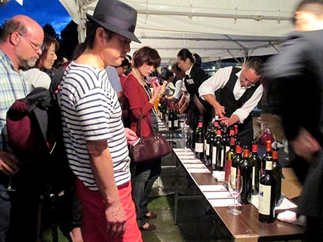 昨年の「ワイン金沢」の様子