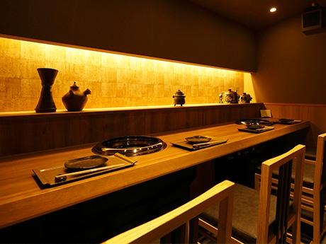 「銘酒と焼肉 京澤」の特別席