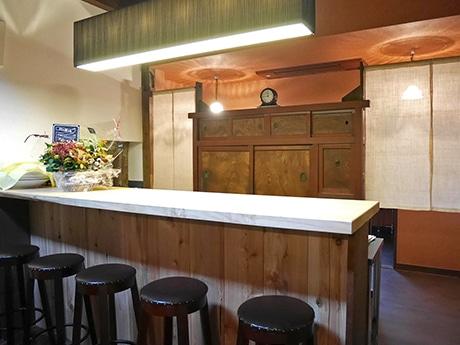 1階カフェスペース「瓢箪カフェ」