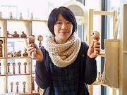 金沢の雑貨店で「こけし展」 伝統こけし300点、こけしブームに乗り開催3回目