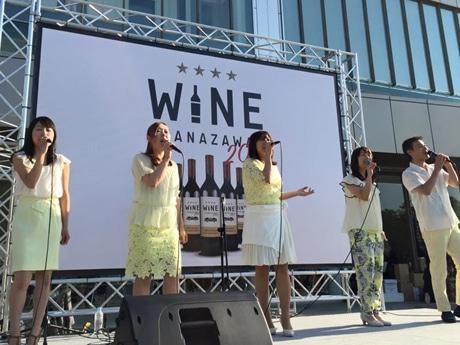 昨年のワイン金沢の様子