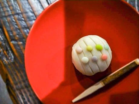 上生菓子「雨あがり」