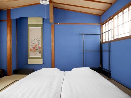 ゲストハウスの一室「群青の間」