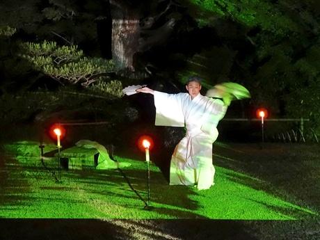 藤間信乃輔さんの舞