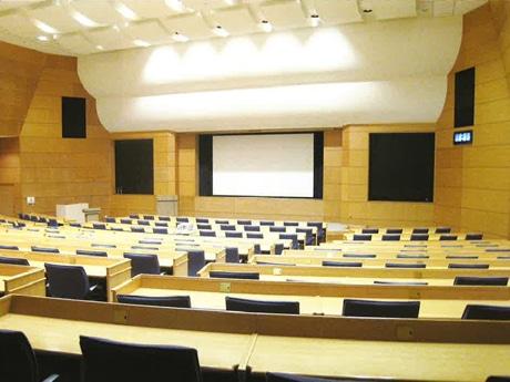 会場の石川ハイテク交流センター会議室