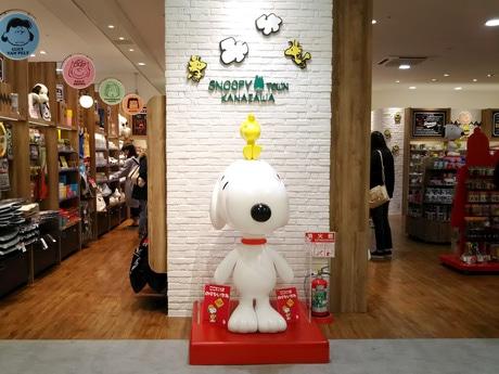 金沢駅内Rintoにオープンした「スヌーピータウンショップ金沢店」