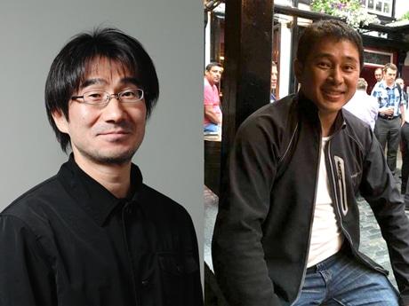 コーディネーターの馬場正尊さん(左)、徳田光弘さん(右)