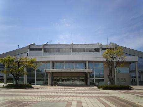 会場の石川県産業展示館4号館