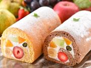 金沢にフルーツスイーツ専門店 果物を使ったロールケーキ・生ゼリー看板に