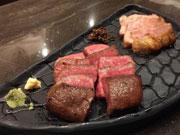 金沢・片町に隠れ家風炭火焼き料理店 雌和牛の赤肉を塊で