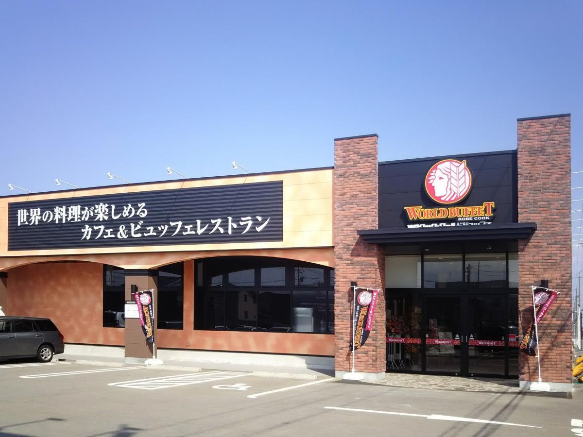北陸初出店した「神戸クック・ワールドビュッフェ 野々市店」