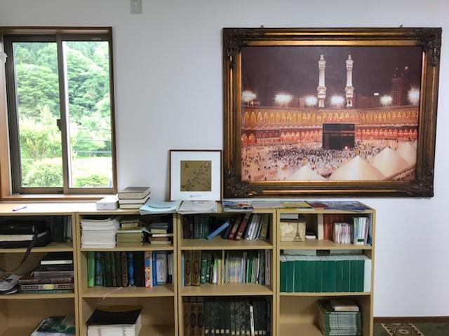 金沢モスクの内観