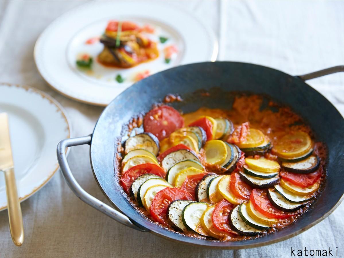 イベントで調理予定の「レミーのおいしいラタトゥイユ」